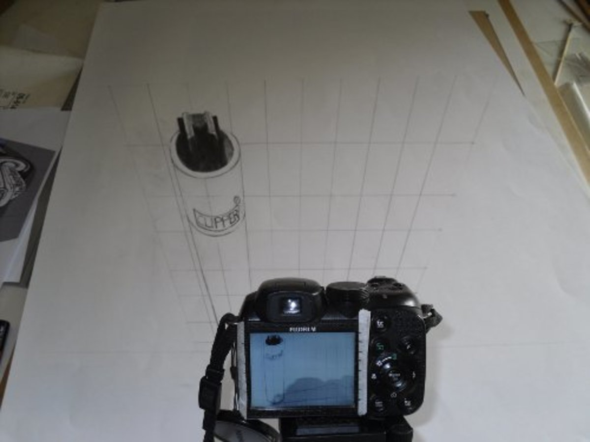 Secrets of 3d street art illusion revealed, how to draw digital anamorphic perspectives.