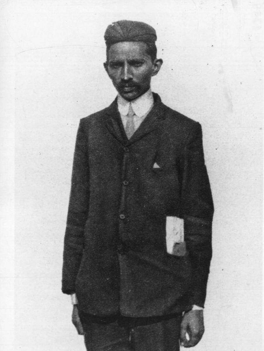 Mahatma Gandhi in South Africa - 1900