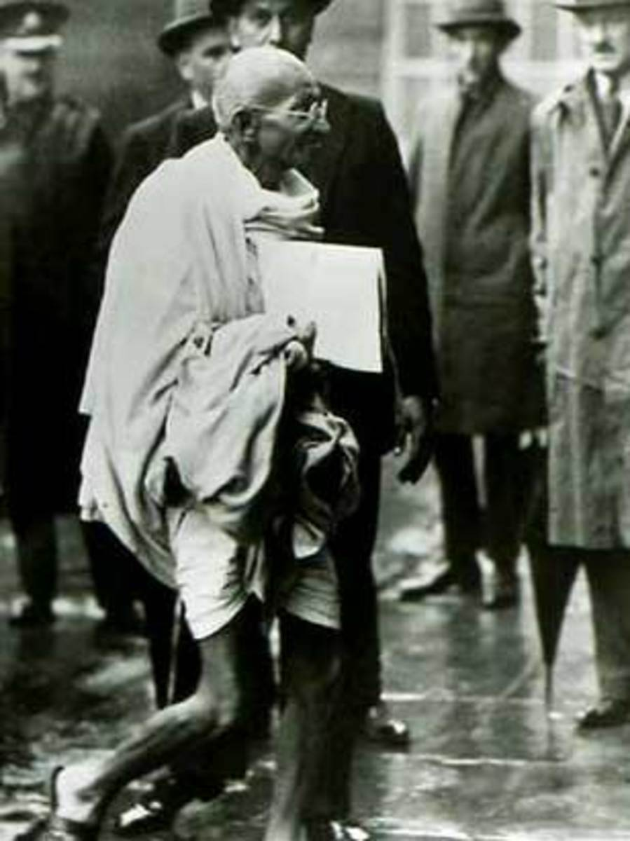 Mahatma Gandhi in London