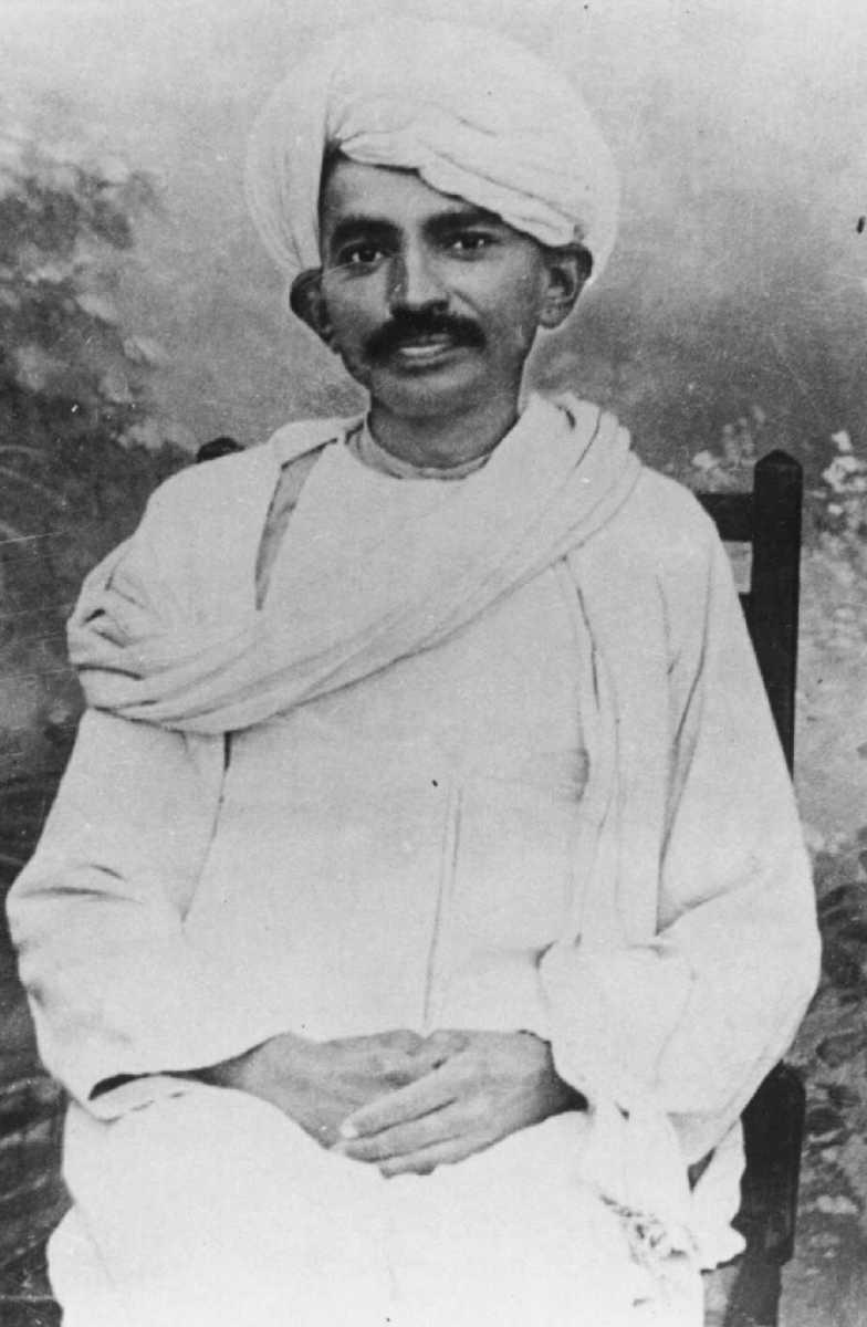 Mahatma Gandhi en 1915 Inda