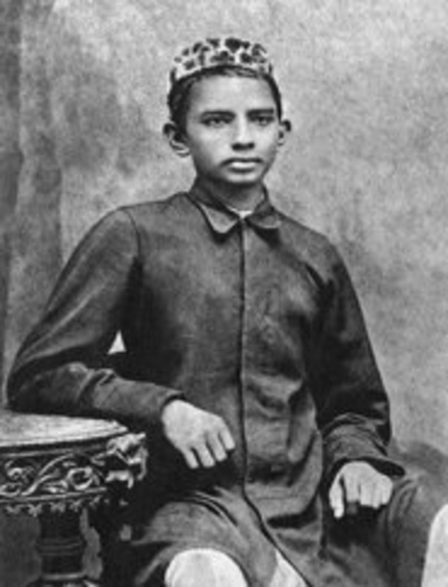 the early years in the life of mohandas gandhi Gandhi's early life mohandas gandhi  after a lot of pleading he finally agreed and he went to england in 1888 to study law after three long years of .
