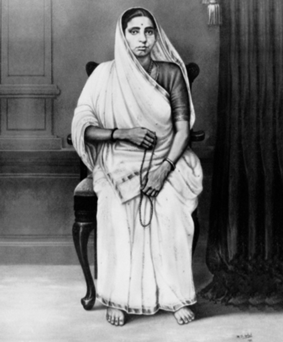 Putlibai Gandhi - Mother of Mohandas Gandhi