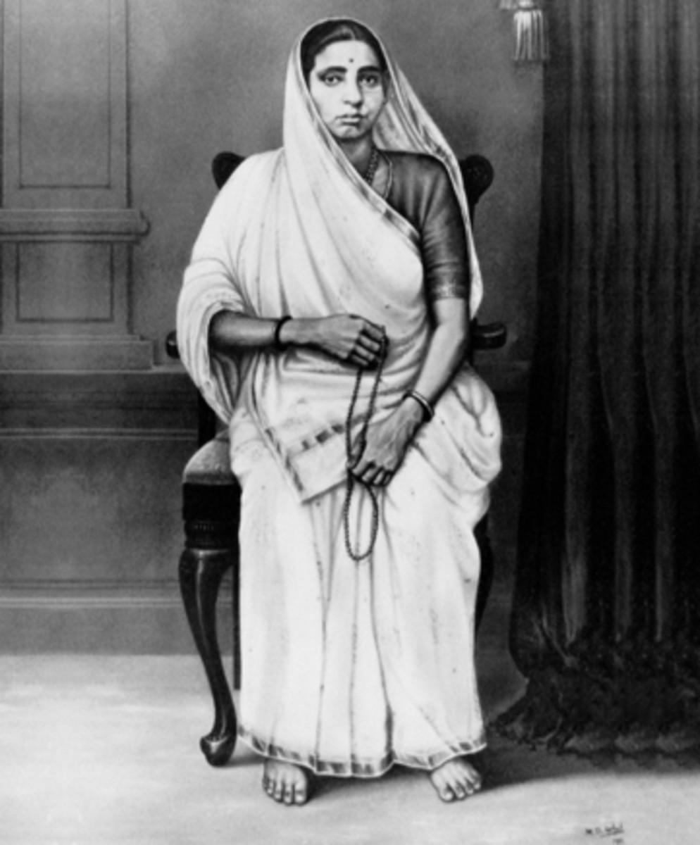 Putlibai Gandhi - Madre de Mohandas Gandhi