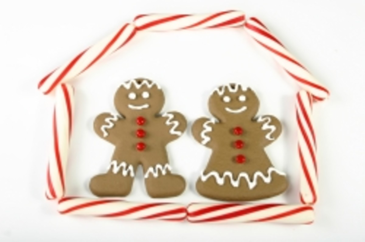 Gingerbread Man Decor