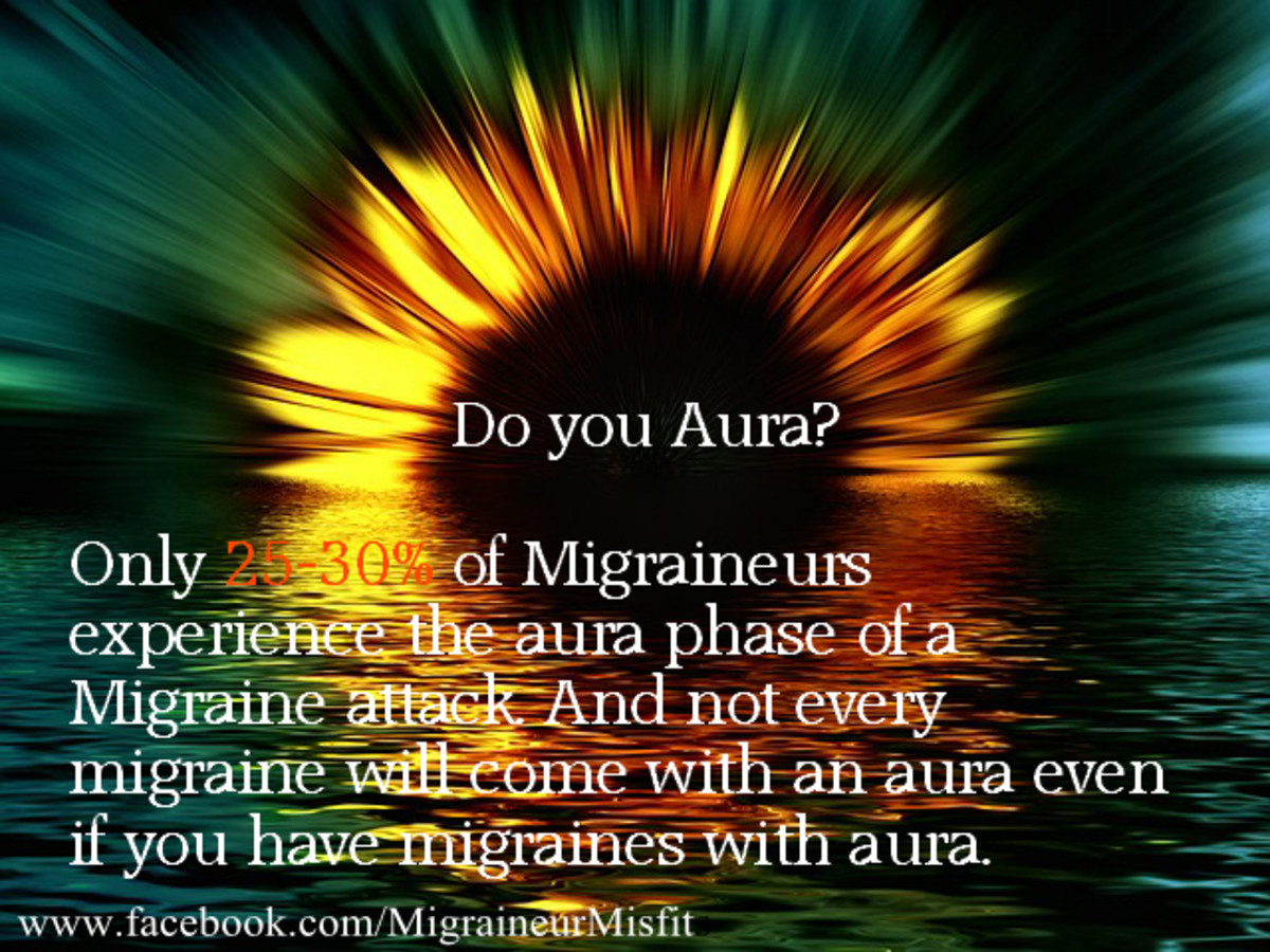 Only 20-30% of migraine attacks present with an aura in those with migraine with aura typically.