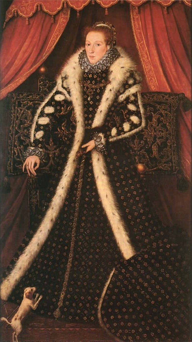 All of this pearling and jewelled attire would have been done by embroidery guilds. Coats or Gabardines or Jutes, there are many names come into fashion.