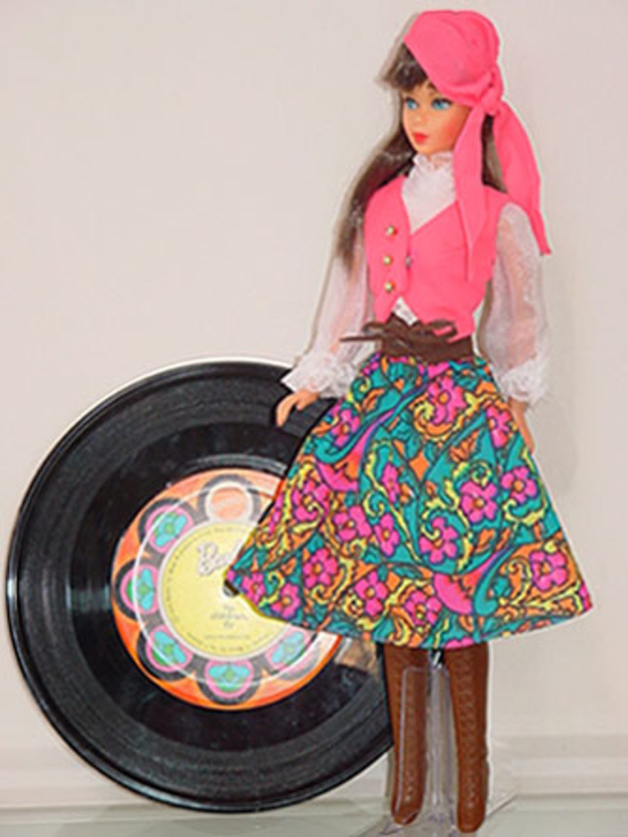 Barbie in Festival Fashion