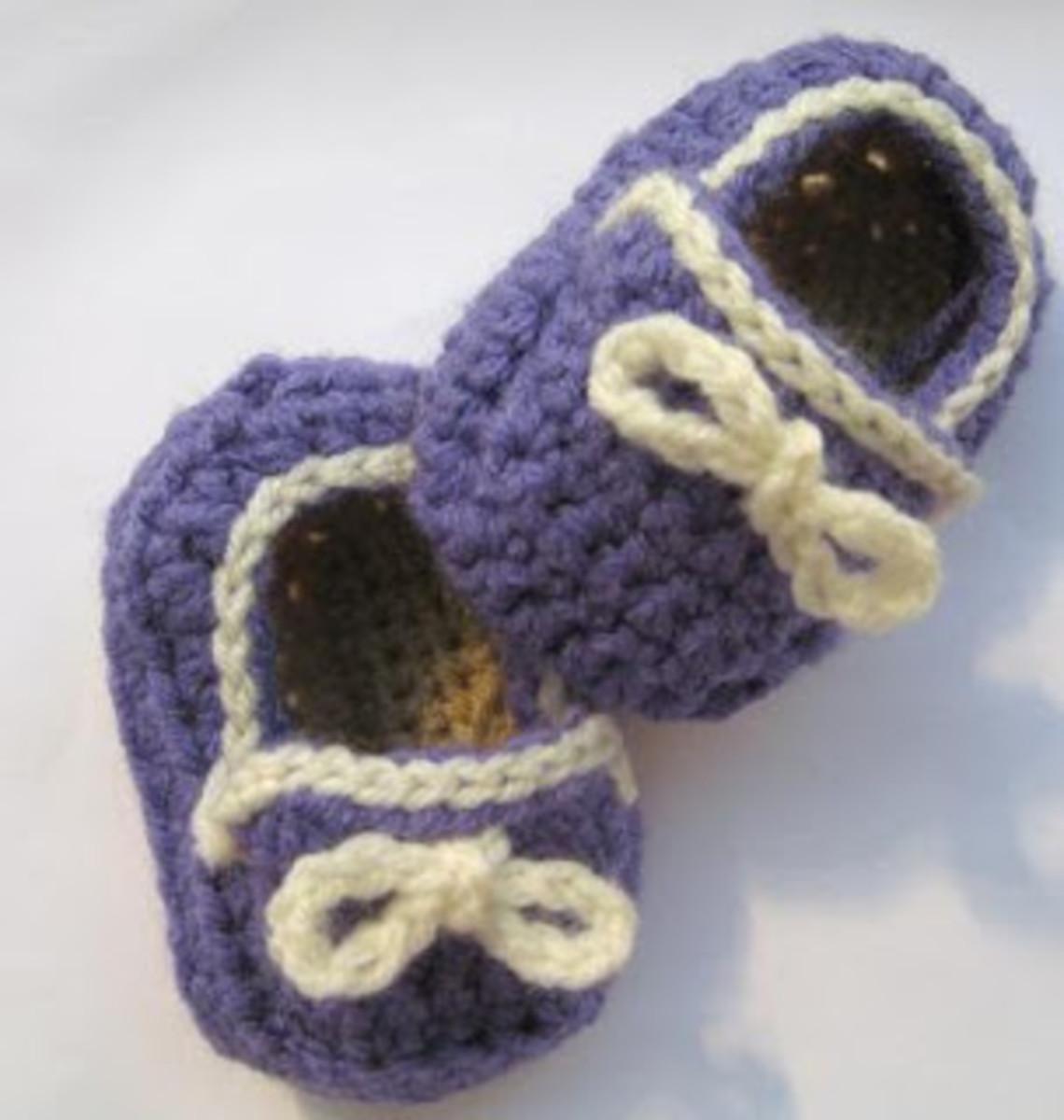 Crochet Boy's Slippers
