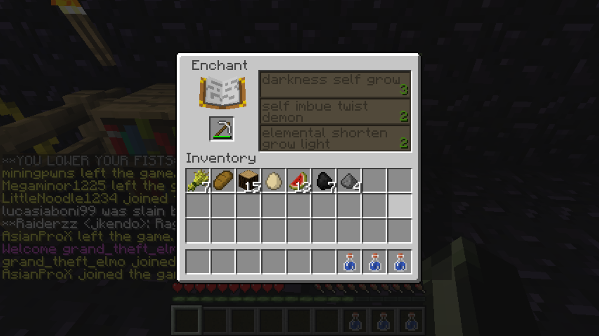 Read your minecraft enchantments in English!