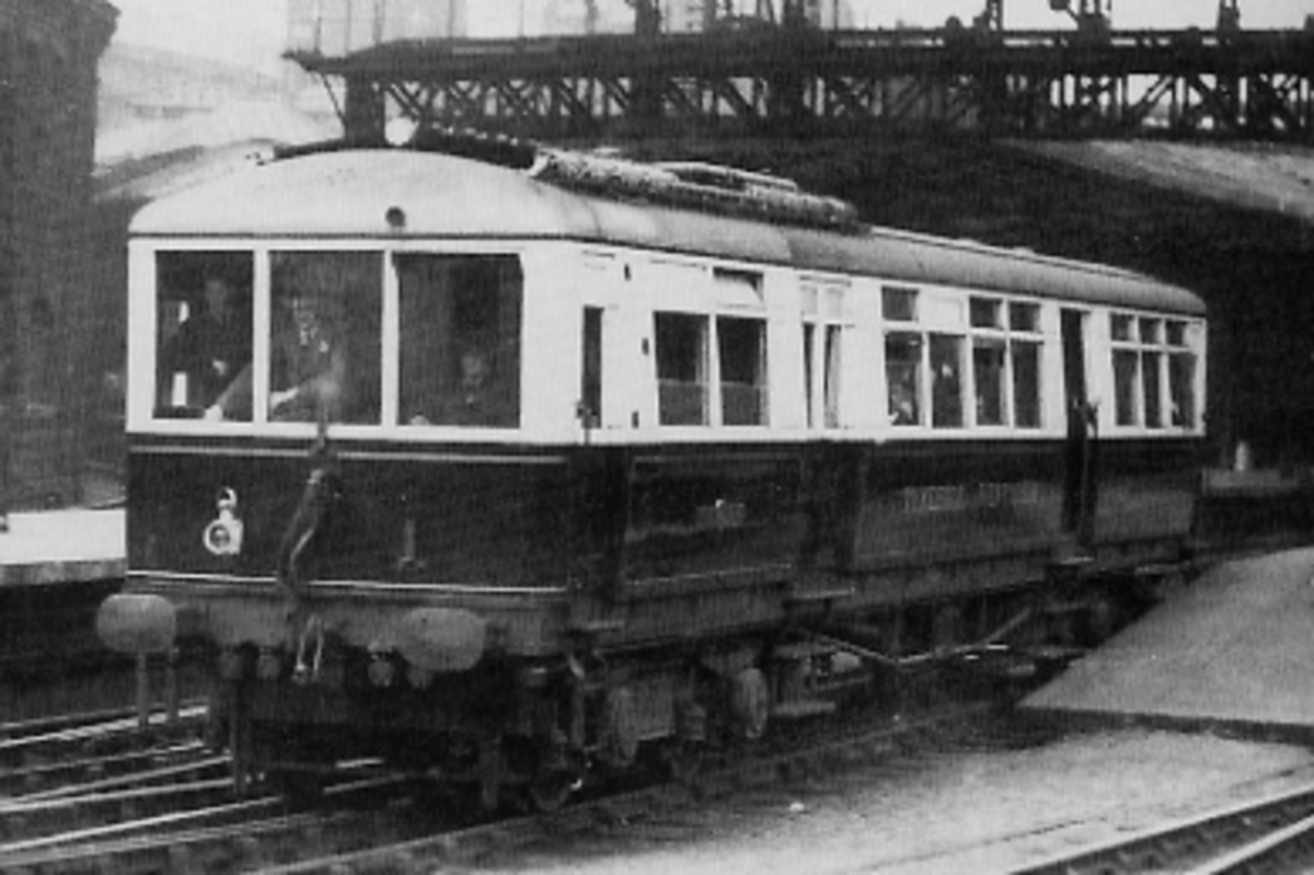 Armstrong Whitworth North Eastern Railway electric railcar