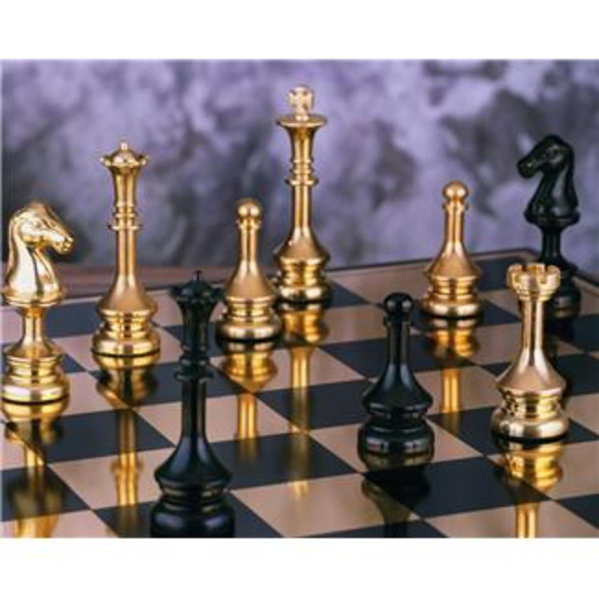 The Great Gift Chronicles: Chess, Anyone?