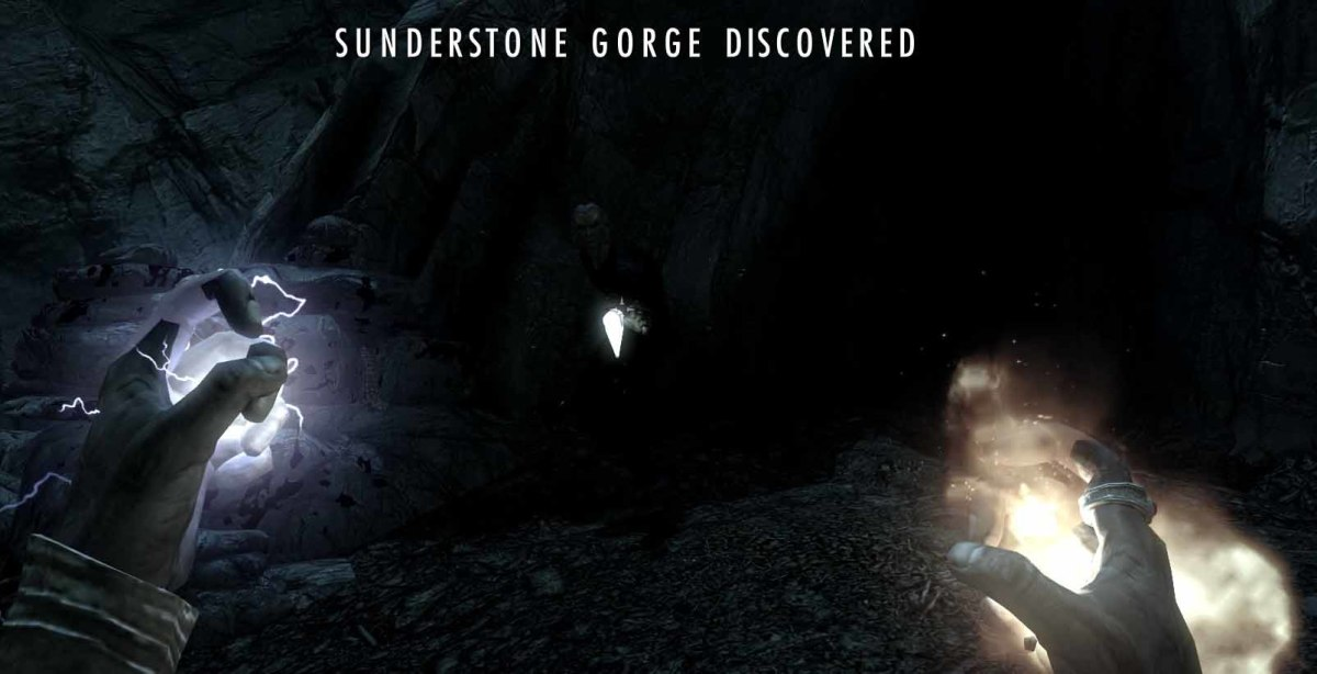 Skyrim Fire Breath Dragon Shout is finally completed by visiting Sunderstone Gorge
