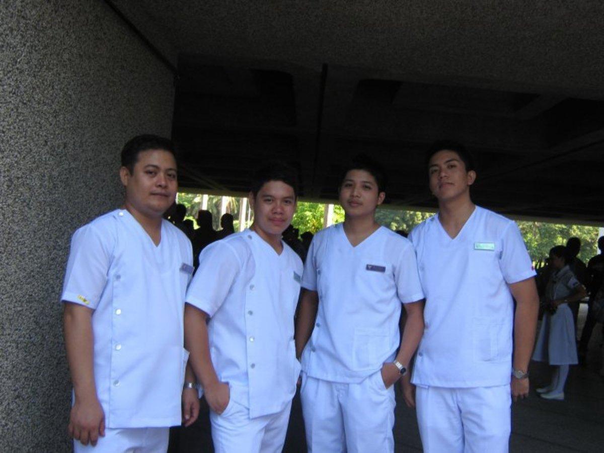 Our dear nurses. :)