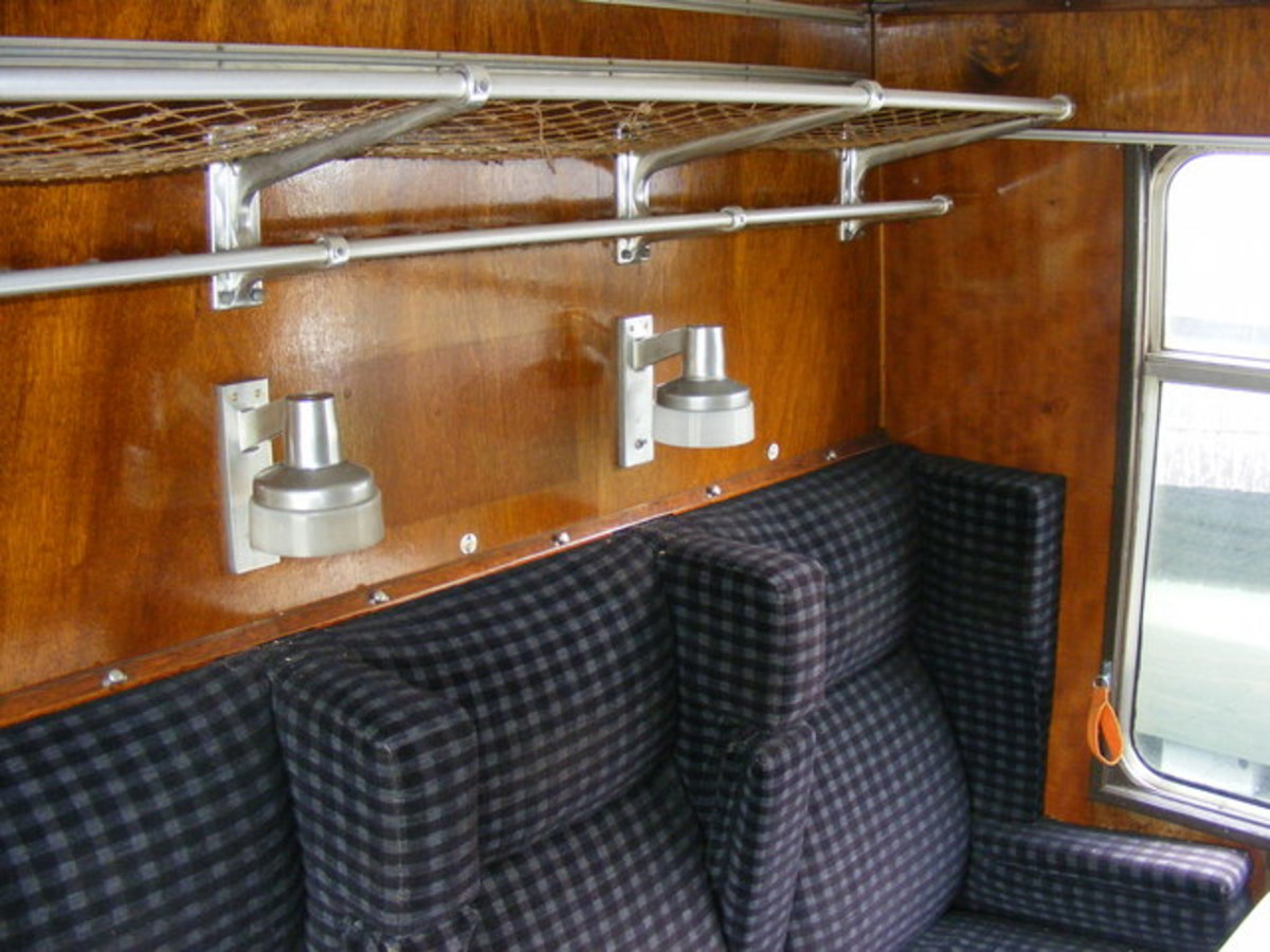 British Railways Mark 1 stock, first class compartment