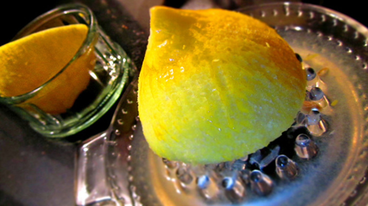 Lemon juice alternative