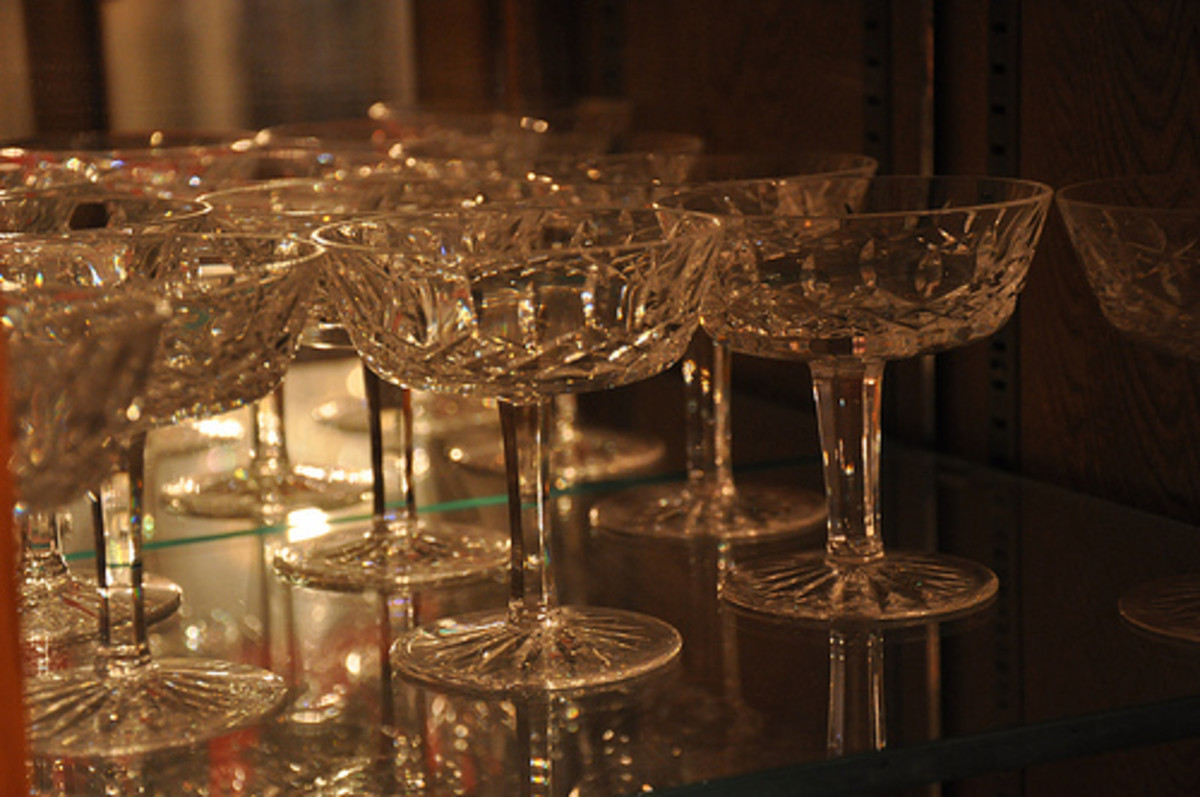 Stemware and glasses