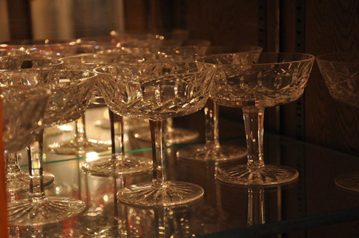 Stemware and glasses