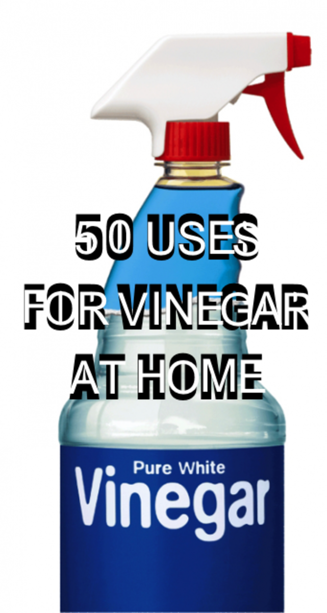 50 Alternative Uses For Vinegar Around The House