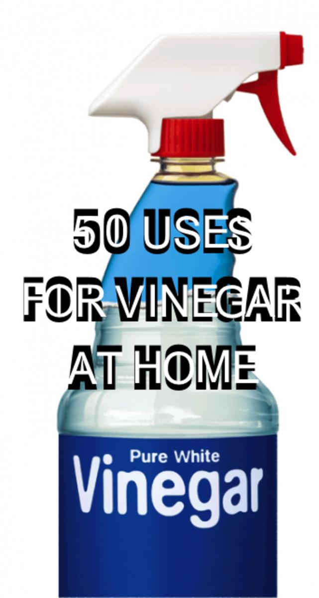 50 Alternative Uses For Vinegar Around The House