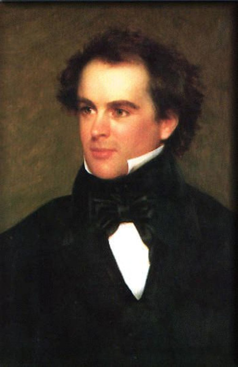 Nathaniel Hawthorne author of 'David Swan'