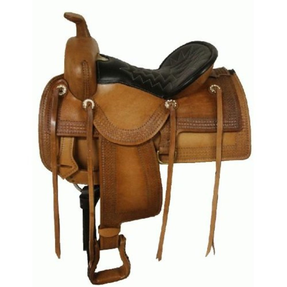 Look for Western saddles that have a deep seat.