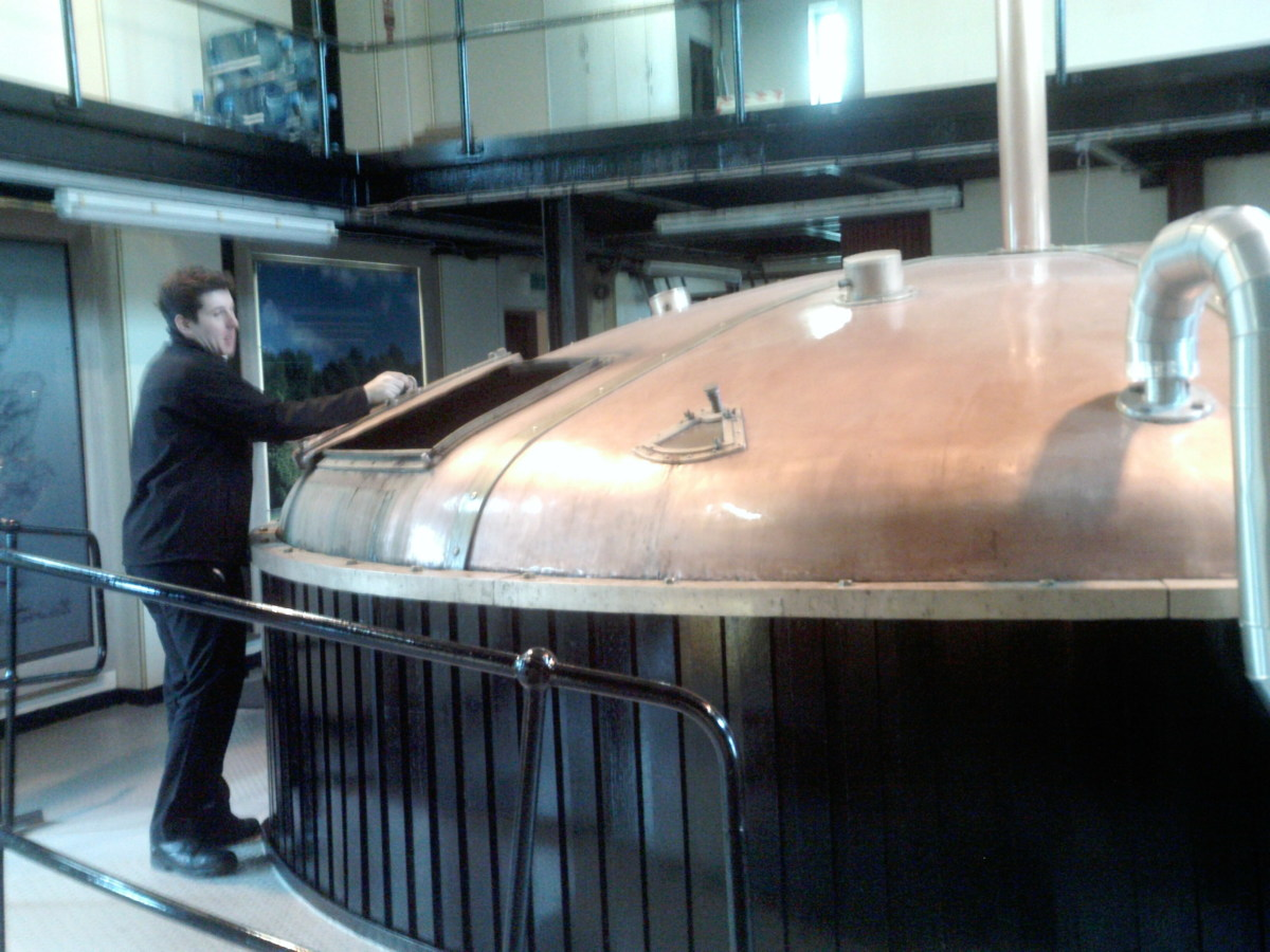 The Mash- Auchentoshan Whisky Distillery