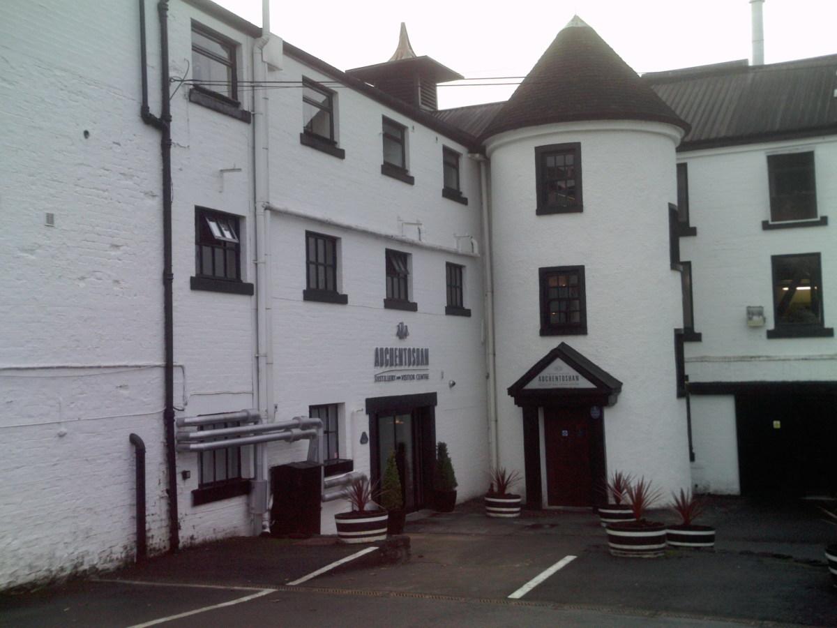 Auchentoshan Distillery Visitor Centre Entance