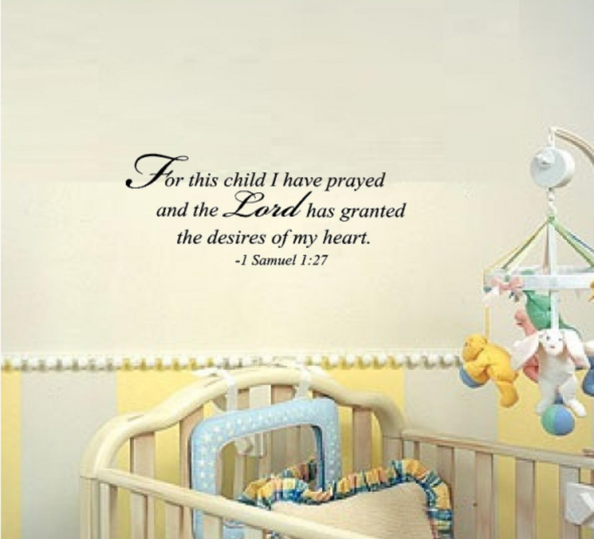 Baby Wall Quote