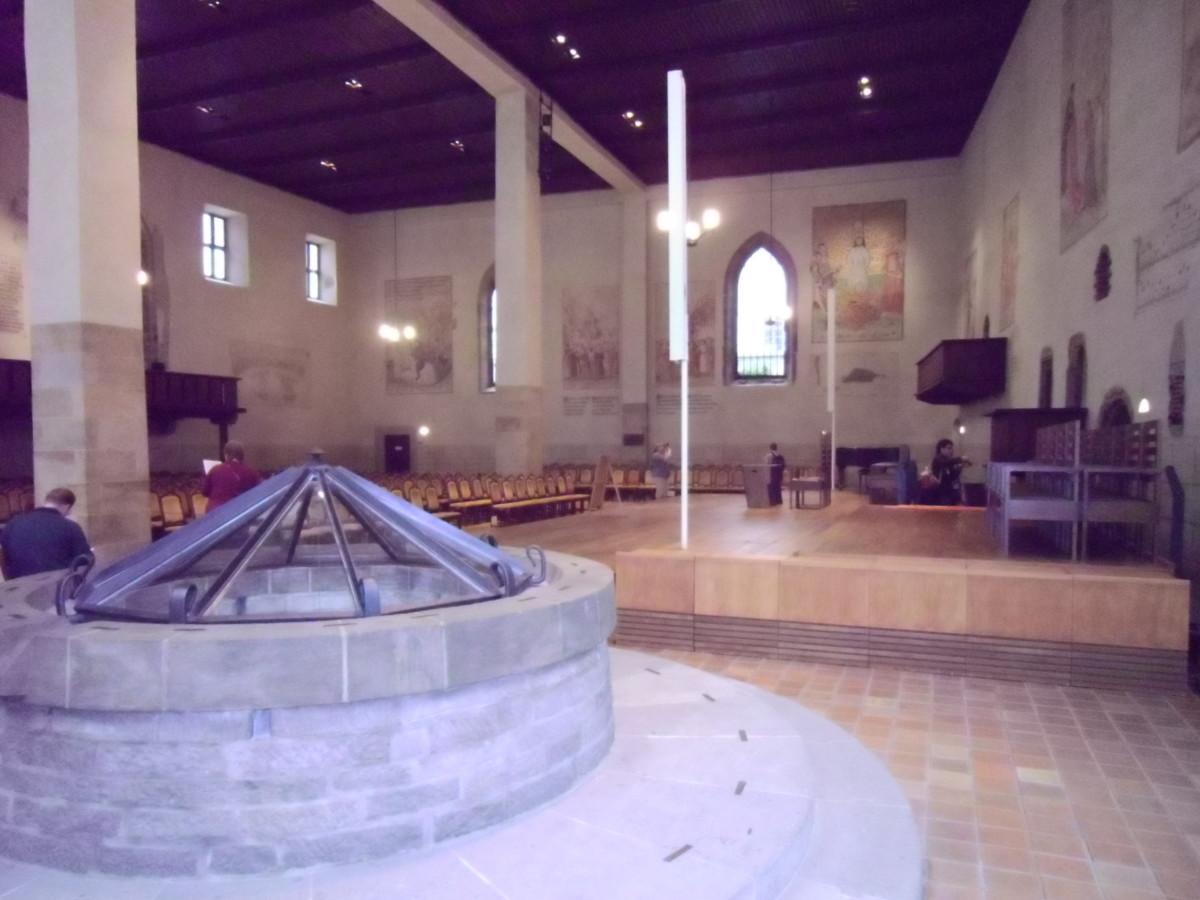 Well inside Bethlehem Chapel