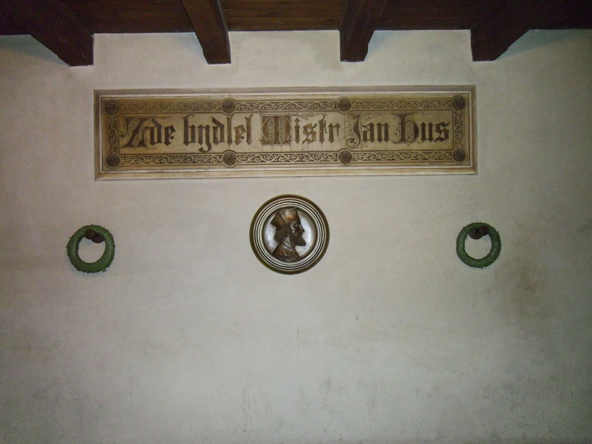Plaque in Memory of Jan Hus