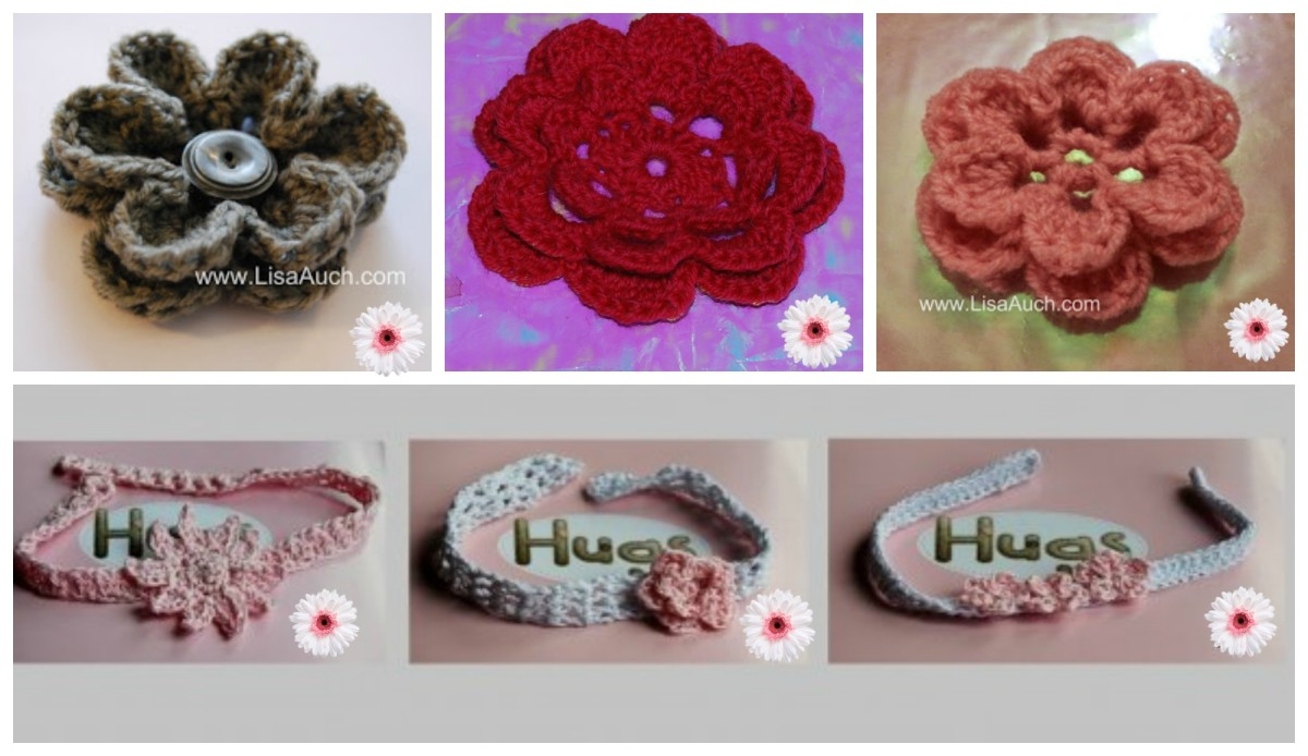 Beautiful flowers and applique