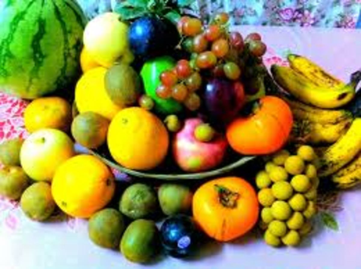 Twelve Round fruits must be in your table for New Year to bring you Good Luck for the whole year