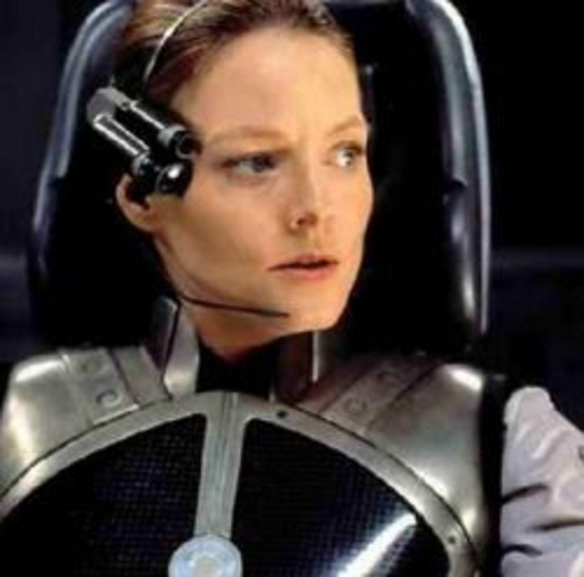 Ellie (Jodie Foster) Atheist in Contact