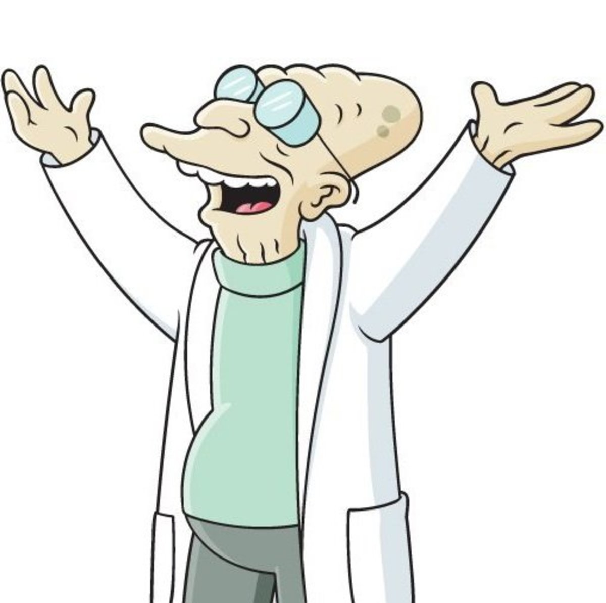Prof. Hubert J. Farnsworth (Billy West) Atheist