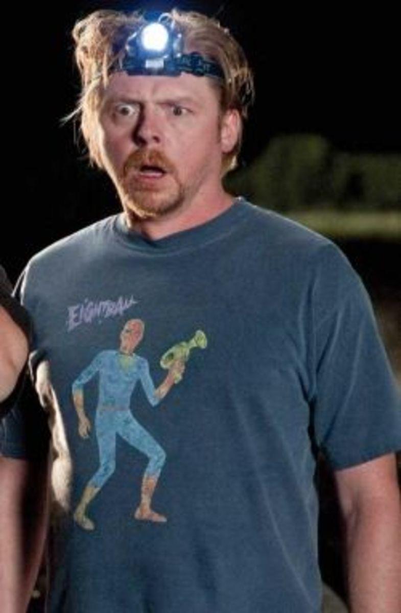 Graeme Willy (Simon Pegg) Atheist