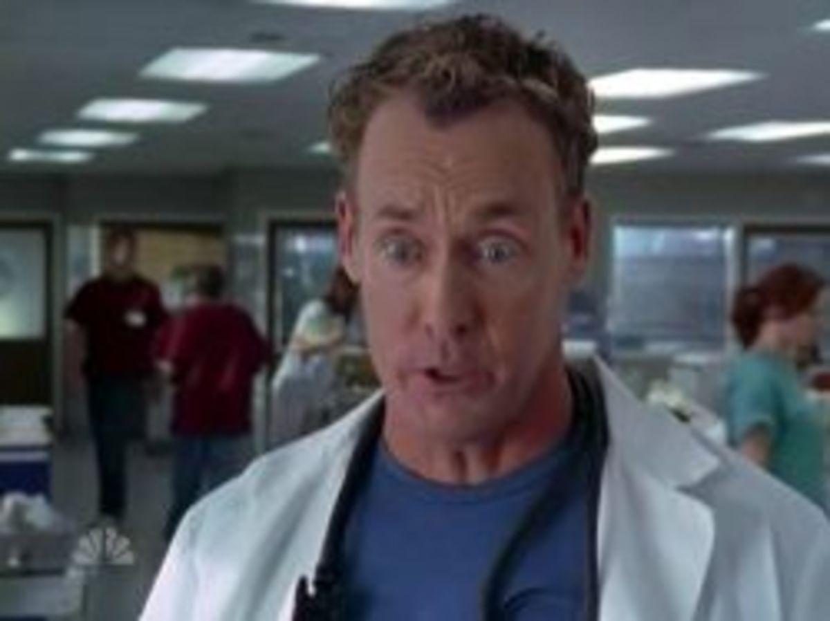 Dr. Perry Cox (John C. McGinley) Atheist
