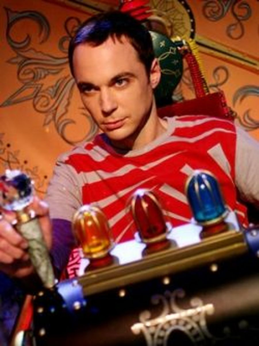 Sheldon Cooper (Jim Parsons) Atheist