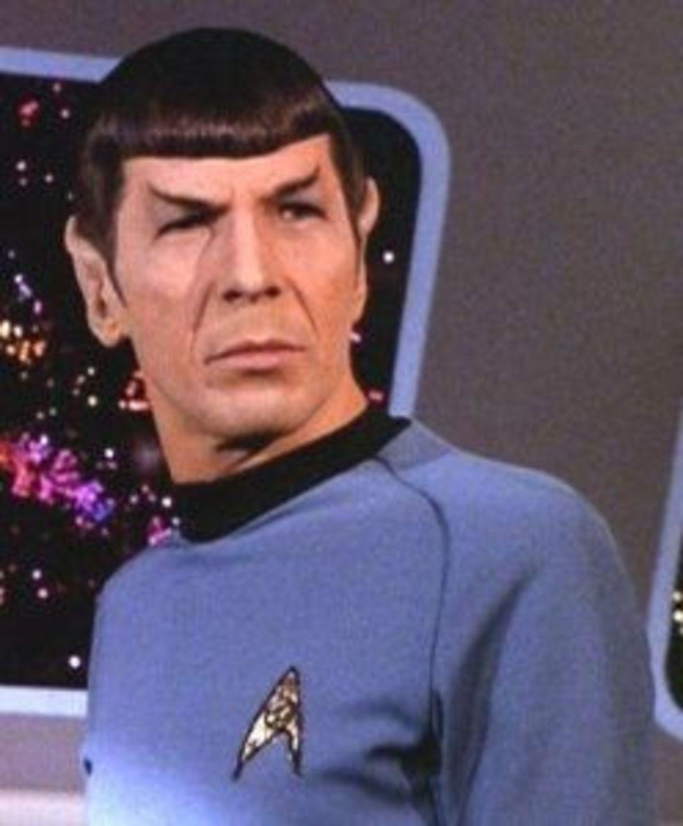 Spock (Leonard Nemoy) Atheist