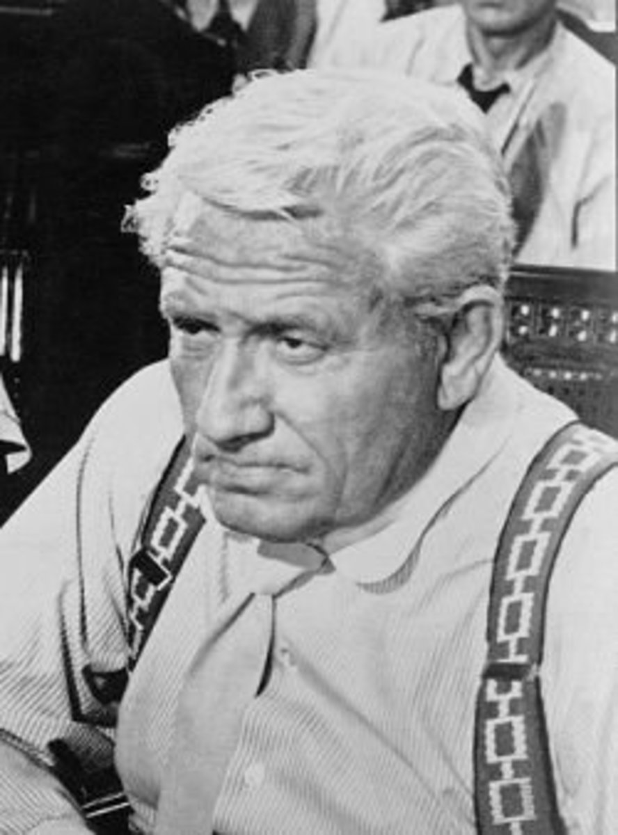 Henry Drummond (Spencer Tracy) Atheist/Agnostic Inherit the Wind