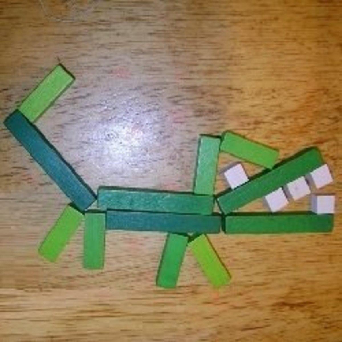Cuisenaire Alligator