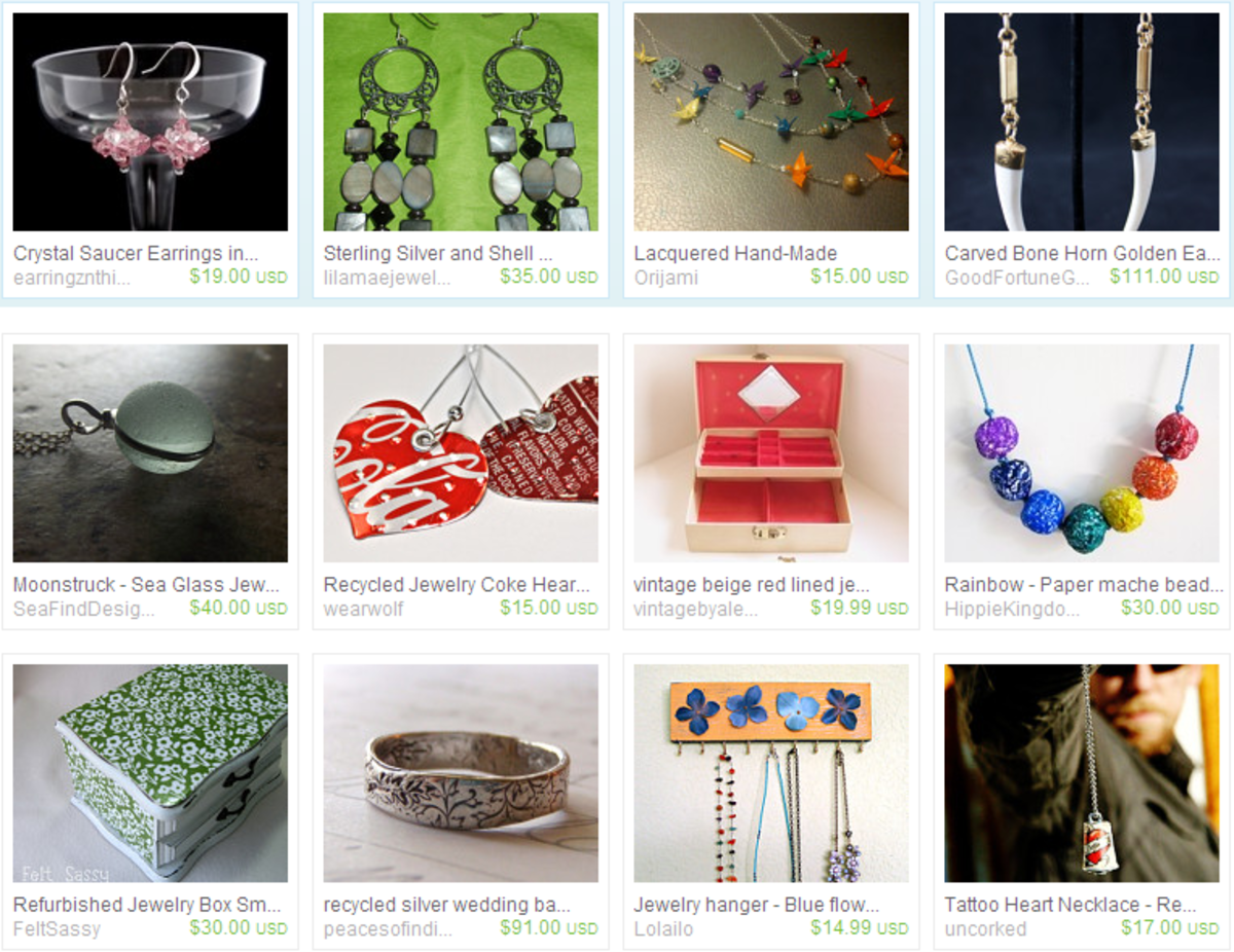 teamecoetsy jewelry on Etsy, a global handmade and vintage marketplace.