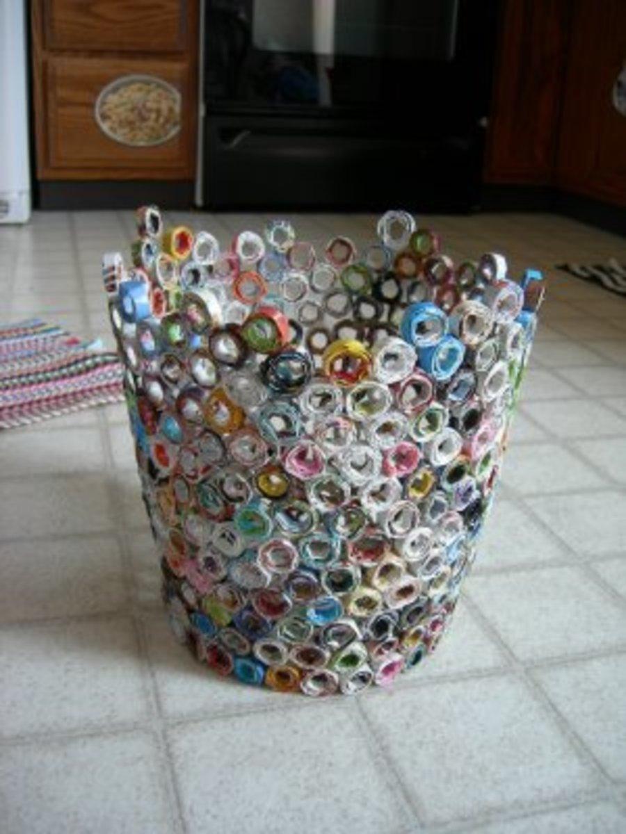 Paper garbag