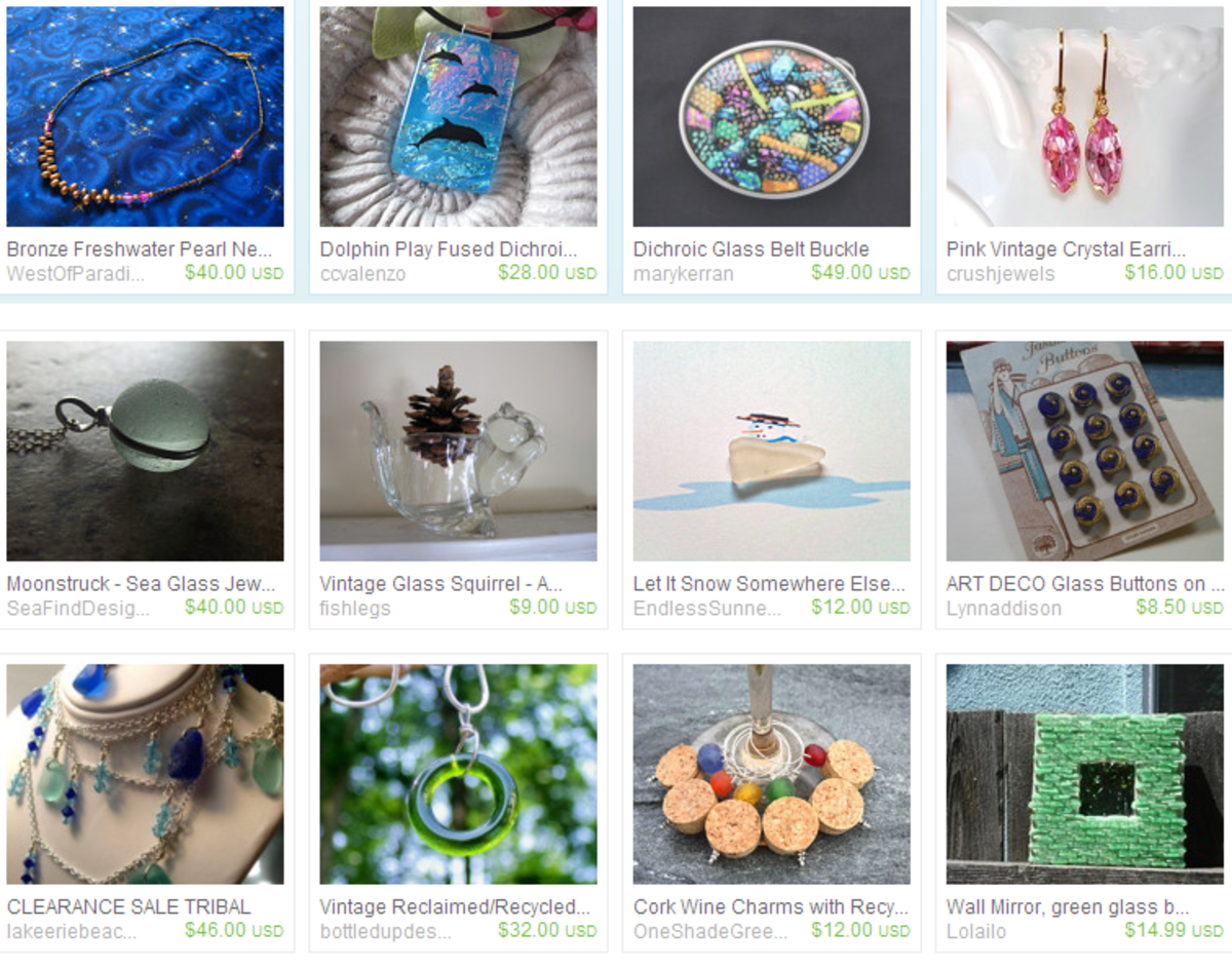 teamecoetsy glass on Etsy, a global handmade and vintage marketplace