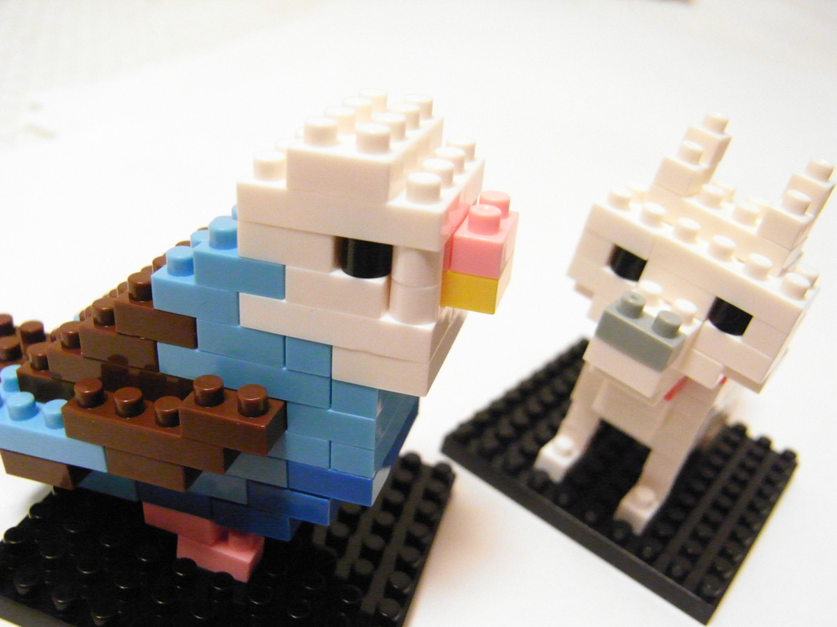 Nanoblock Animals