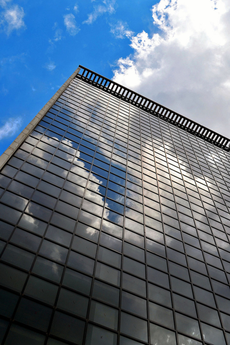Get creative while shooting tall buildings!