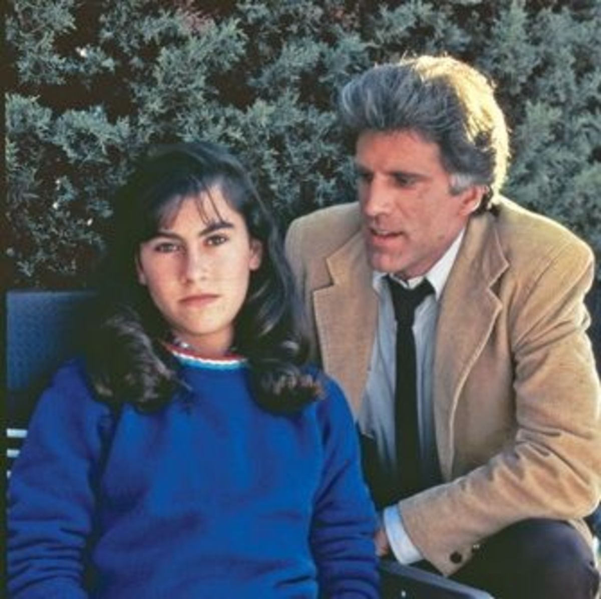 "Ted Danson and Roxanna Zahl in ""Something About Amelia"""