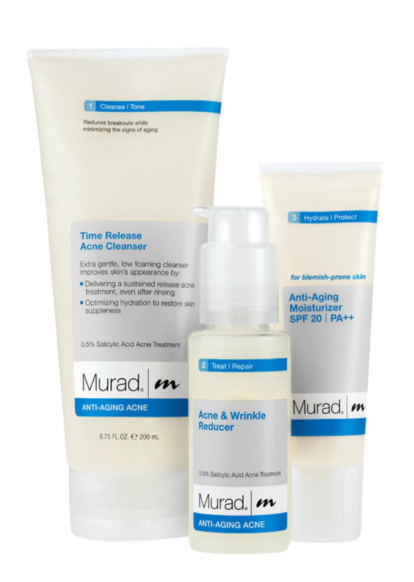Acne Prone Anti-Aging Acne Regimen