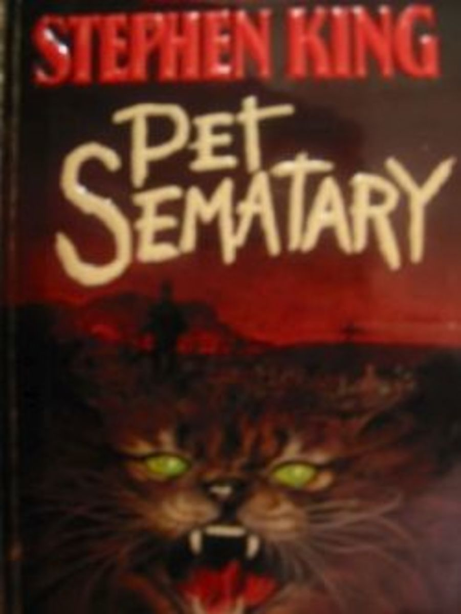 Introductory picture is my copy of Pet Sematary.