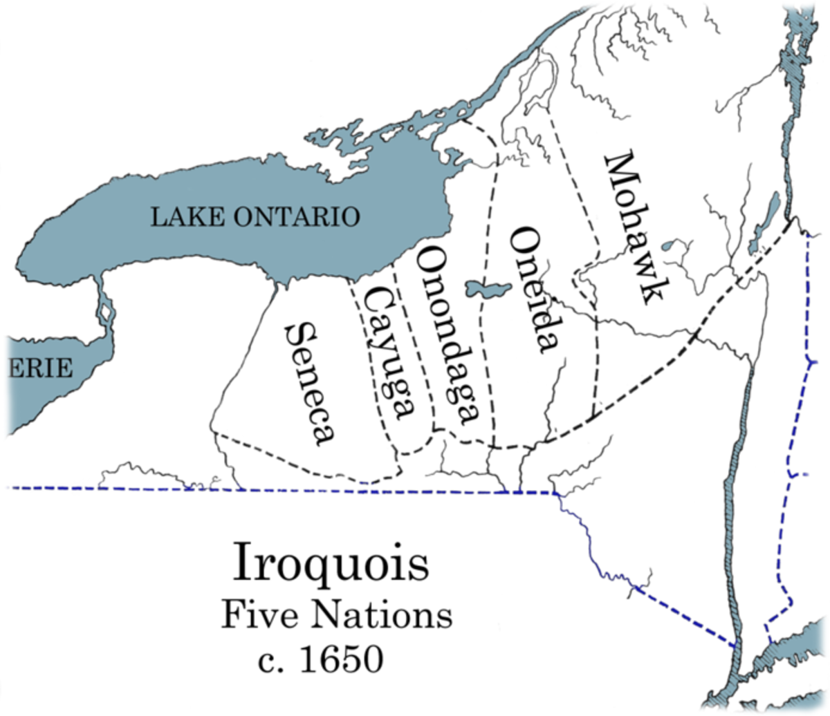 The Iroquois Five Nations Confederacy