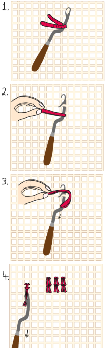 Latch Hook Rug Making How To Make Your Own